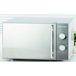 Russell Hobbs Classic Manual Microwave with Mirror Finish - 20 Litre