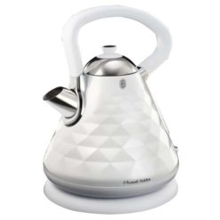 Russell Hobbs Diamond Kettle 1.7 Litre - White