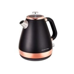 Russell Hobbs Black and Rose Gold Kettle 1.7 Litre