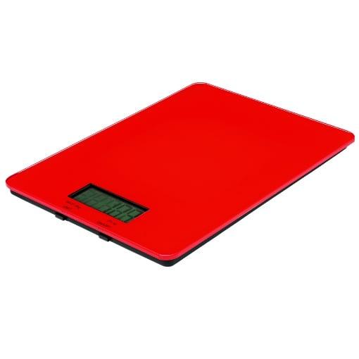 Avanti Digital Kitchen Scale 5kg Red