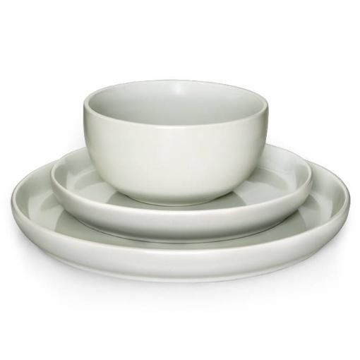Eetrite 12 Piece Dinner Set, Grey
