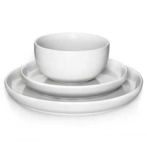 Eetrite 12 Piece Dinner Set, White