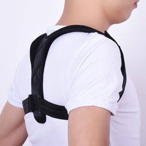 GreenLeaf Unisex Posture Corrector JZD Back and Shoulder Adjustable Brace