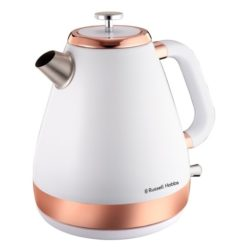 Russell Hobbs White and Rose Gold Kettle 1.7 Litre