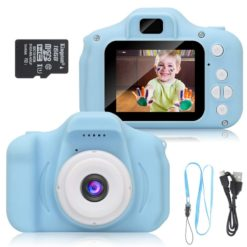 Kids Digital USB Charged Camera Blue