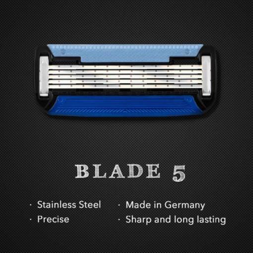 QShave Manual Razor Plus 2 Blades