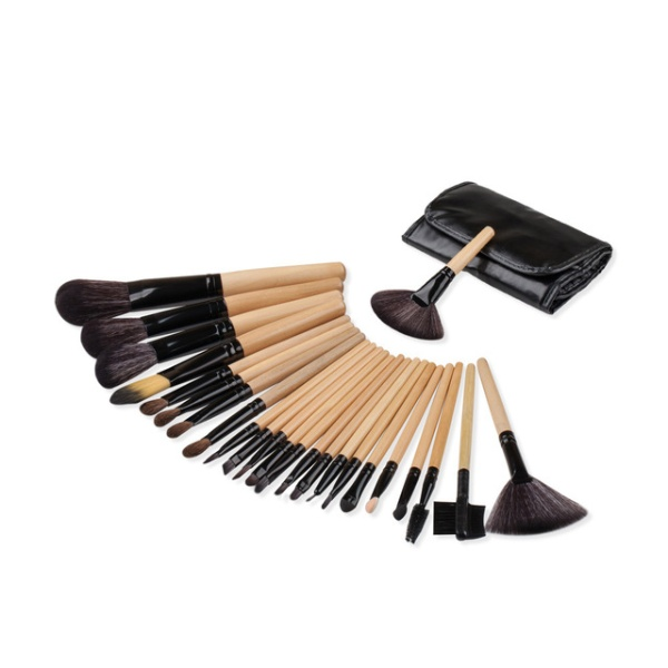 GreenLeaf Professional Makeup Brush Set - 24 Piece