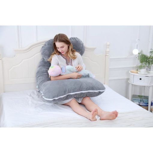 GreenLeaf Full Body Pregnancy Pillow U Shape