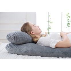 GreenLeaf Full Body Pregnancy Pillow U Shape