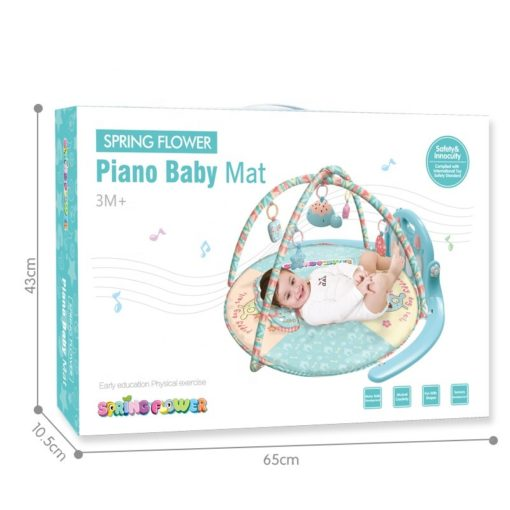 Time2Play Baby Piano Activity Play Mat with Toys