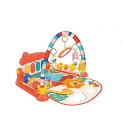 Time2Play Baby Piano Activity Animal Play Mat with Toys