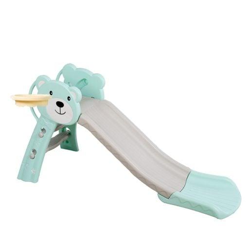 Time2Play Bear Kids Slide - Turquoise
