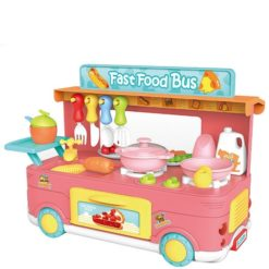 Time2Play Fast Food Bus Play Set