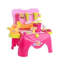 Time2Play Happy Garden Play Set Pink