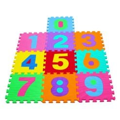 Time2Play Eva Foam Puzzle Number Play Mat 10 Piece