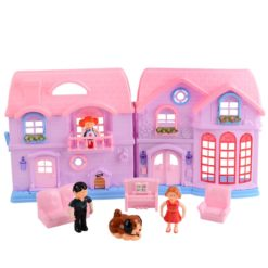 Time2Play Family Doll House Play Set