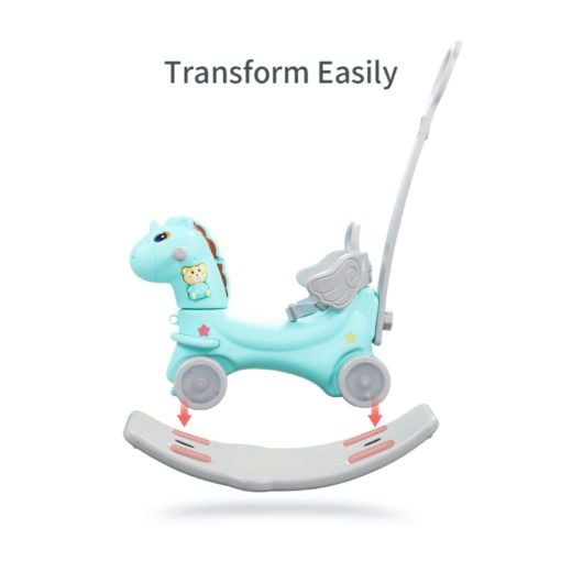 Time2Play 6 in 1 Rocking Horse with Music