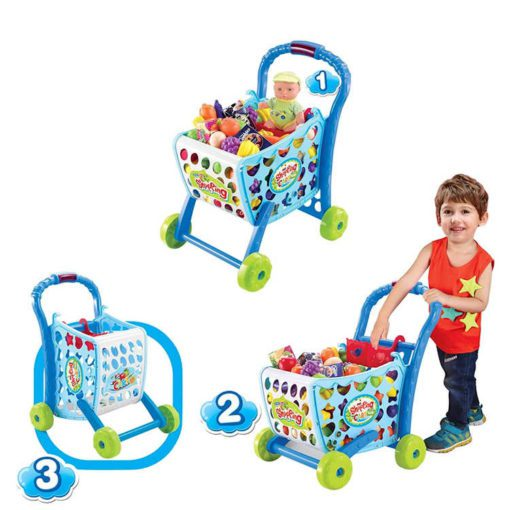 Time2Play Shopping Trolley Play Set