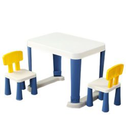 Time2Play Kids Table and Chairs Set - Blue