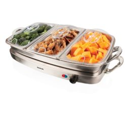 Taurus Buffet Server Multifunction Stainless Steel Servidor