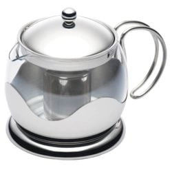 Kitchen Craft Le Xpress Infuser Teapot Glass 1 Litre