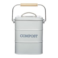 Kitchen Craft Living Nostalgia Steel Compost Bin 3 Litre