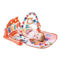 Time2Play Baby Piano Activity Animal Play Mat Orange