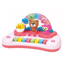 Time2Play Baby Cartoon Animal Piano with Lights