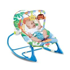 Time2Play Music and Vibrating Baby Rocker Chair Blue
