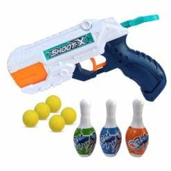 Time2Play Kids Short Barrel Water and Soft Bullet Gun Set