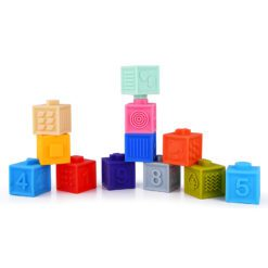 Time2Play Baby Soft Stack Squeeze Blocks Numbers