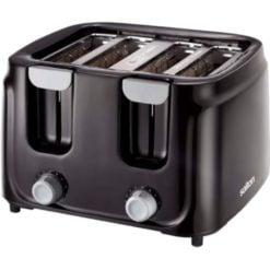 Salton Cool Touch 4 Slice Toaster Black