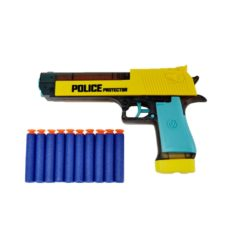 Time2Play Kids Police Water and Foam Dart Gun