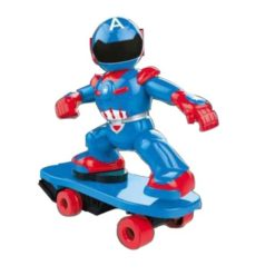 Time2Play Remote Control Superhero on Skateboard