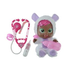Time2Play Cry Baby Black Doll with Medical Kit