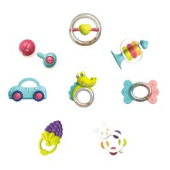 Time2Play Baby Hand Rattle Set 8 Pieces