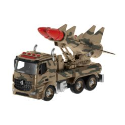Time2Play DIY Rocket Launcher Truck Building Set