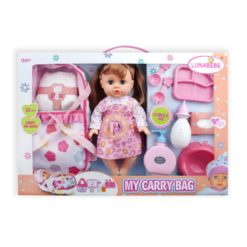 Time2Play Functional Doll Set with Carry Bag Blond Hair