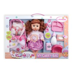 Time2Play Functional Doll Set with Carry Bag Red Hair