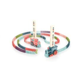 Time2Play Kids Domino Train Pastle Colours