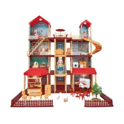Time2Play DIY 4 Story Dream Doll House - 407 Pieces
