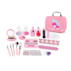 Time2Play Girls Mermaid Cosmetic Set with Bag