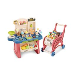 Time2Play Mini Supermarket with Trolley Lights and Sound