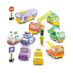 Time2Play Kids DIY 3D Construction Puzzle Car Building Set - 66 Piece