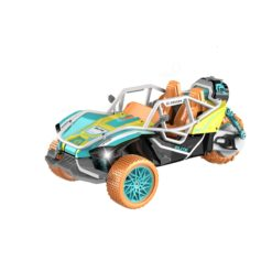 Time2Play Remote Control Buggy Car with Exhaust Spray Orange