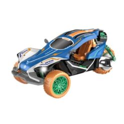 Time2Play Remote Control Racing Car with Exhaust Spray Blue