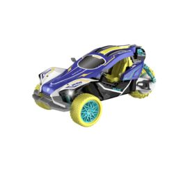 Time2Play Remote Control Racing Car with Exhaust Spray Purple