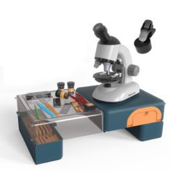 Time2Play Kids Scientific Microscope Set with Stand White