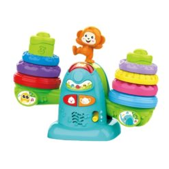 Time2Play Toddler Colourful Seesaw Stacker