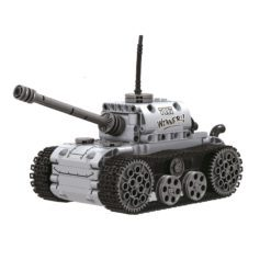 Time2Play Technique Tank Building Blocks with Electric Motor